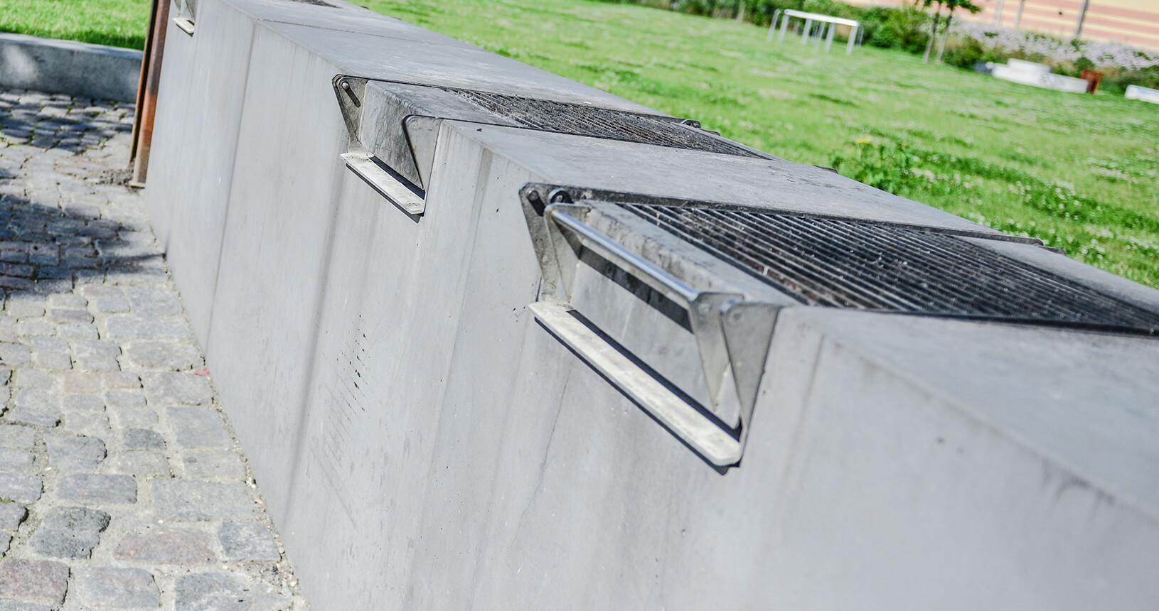 Grillelement- aarhus-Cementvarefabrik