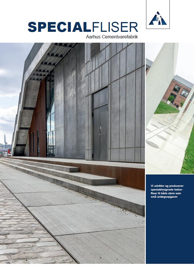 Brochure Specialfliser Aarhus Cementvarefabrik
